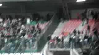 Rellen tijdens NEC - Dinamo Boekarest