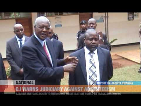 #PMLIVE: CHIEF JUSTICE WARNS JUDICIARY AGAINST ABSENTEEISM