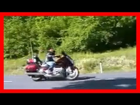 Honda Goldwing 1800 Airbag test ride / Motoradtest von 1000PS