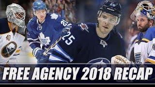 Free Agency 2018 Recap