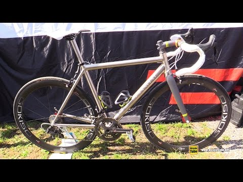 8577eb254a1 2016 Passoni Road Bike with Gokiso Hubs and Rims - Walkaround - 2015  Eurobike Demo Day - YouTube
