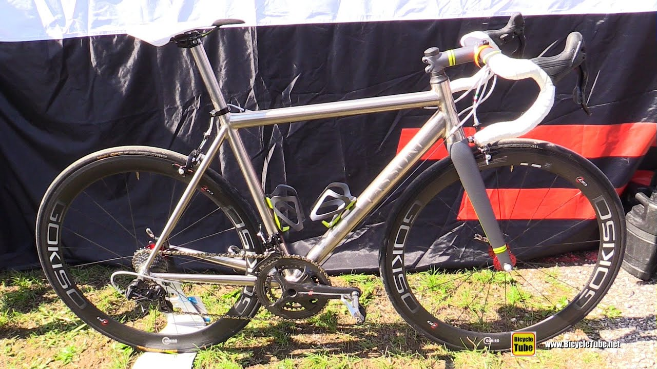 23b4e269fbb 2016 Passoni Road Bike with Gokiso Hubs and Rims - Walkaround - 2015  Eurobike Demo Day