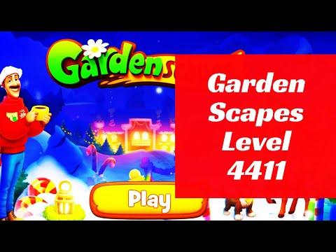 Gardenscapes Level 4411
