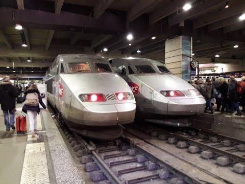 FR#144 - Le dimanche soir en gare de Paris-Montparnasse: TGV TER Transilien N - 20/11/16