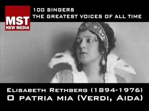 100 Greatest Singers: ELISABETH RETHBERG