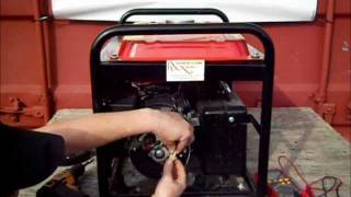 How to test your Electricity Generator's AVR, Brushes and Alternator on a Brushed Alternator