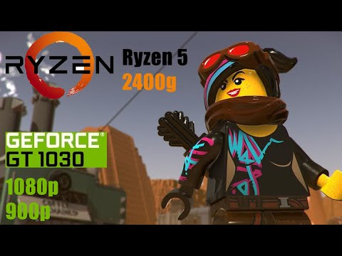 The LEGO Movie 2 Videogame - GT 1030 & Ryzen 5 2400g  