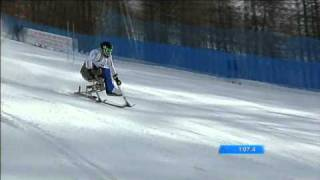 Slalom, Yohann Taberlet, médaille d'argent