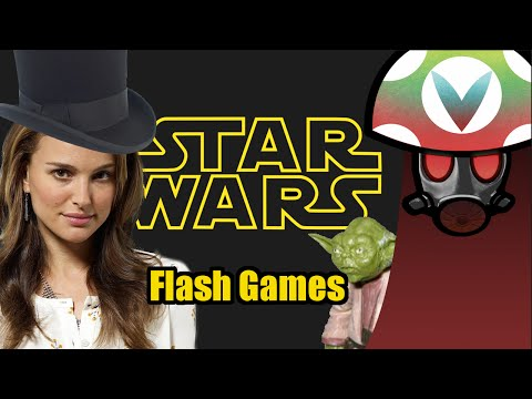 Star Wars Flash Games - Rev After Hours [Vinesauce]