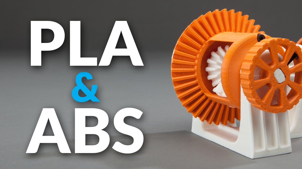 PLA vs ABS Filament: Plastic Strength, Flexibility Compared! Which
