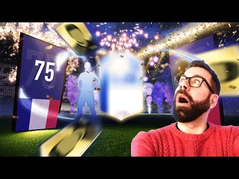 OMG A TOTGS WALK OUT!! 75 x 2 PLAYER UPGRADE PACKS!! - FIFA 18 Ultimate Team