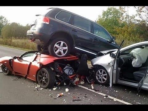 Аварии супер-каров l Аварри спорт машин l Аварии самых дорогих машин l Super Car Driver Idiots