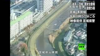 لحظة وقوع زلزال بقوة 7.3 درجة يضرب شرق اليابان.. فيديو