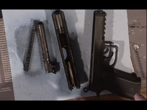 CZ75 SP-01 Phantom 1000 Round Disassembly and Cleaning (How to/DIY)