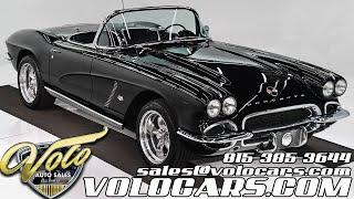 1962 Chevrolet Corvette for sale at Volo Auto Museum (V19021)