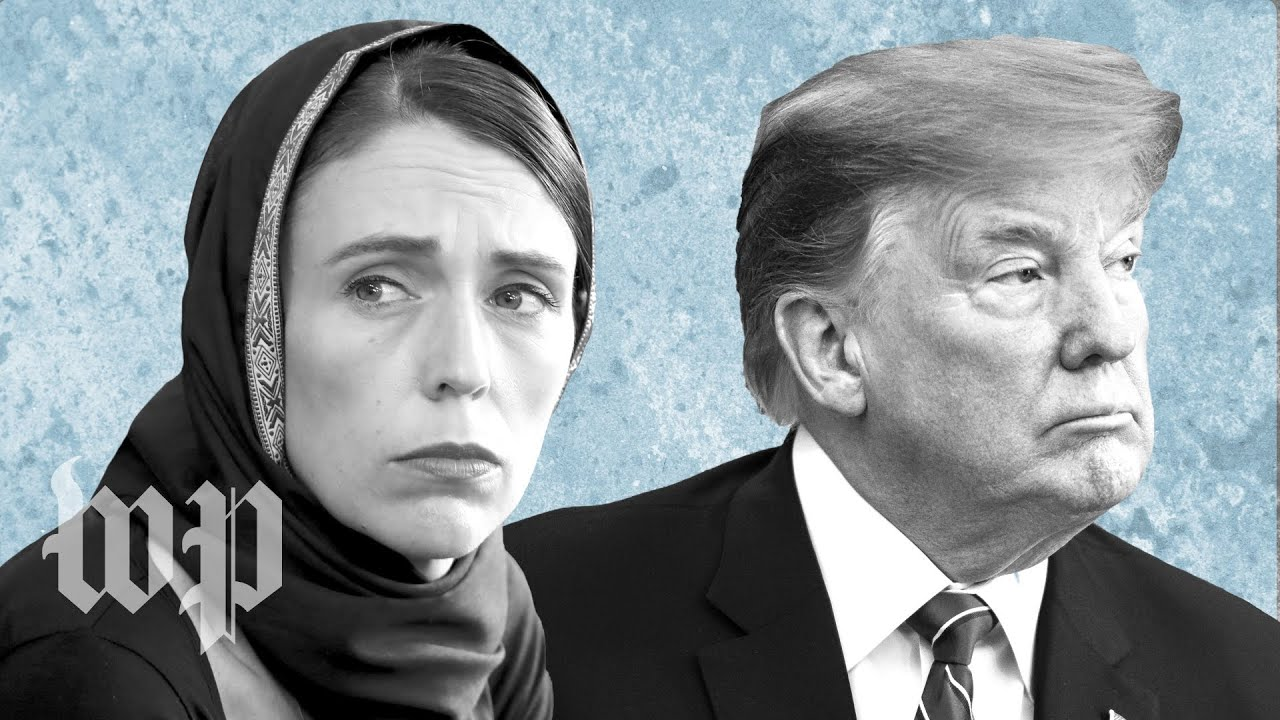 Opinion | New Zealand's prime minister makes Trump's empathy gap look like a canyon