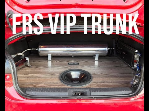 How To FRS VIP Trunk Hardwood Trunk