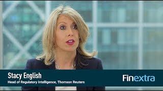 Finextra interviews Thomson Reuters: FinTech, RegTech & The Role of Compliance