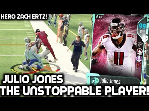 JULIO JONES THE UNSTOPPABLE PLAYER! Madden 18 Ultimate Team