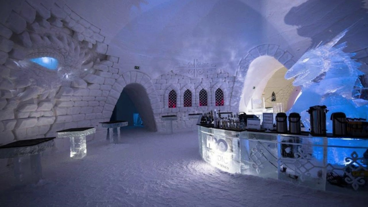 game of thrones ice hotel opens in finland youtube