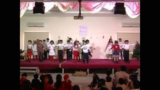long time ago in bethlehem song and my heart goes sha lala la dance by grade 1b