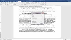 Calculating readability statistics in Word 2016