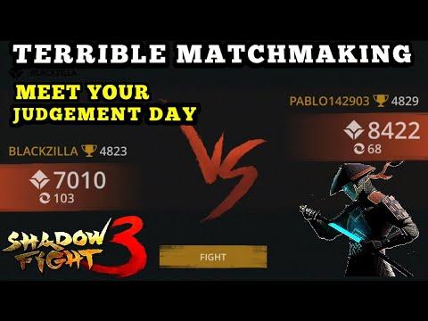 Shadow Fight 3》Terrible matchmaking