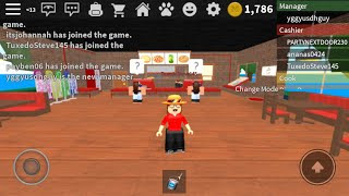 Work at the Pizza Place w Cookii YT -Roblox