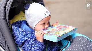 Команда Невзорова поздравила детей Таировской ОТГ с праздником