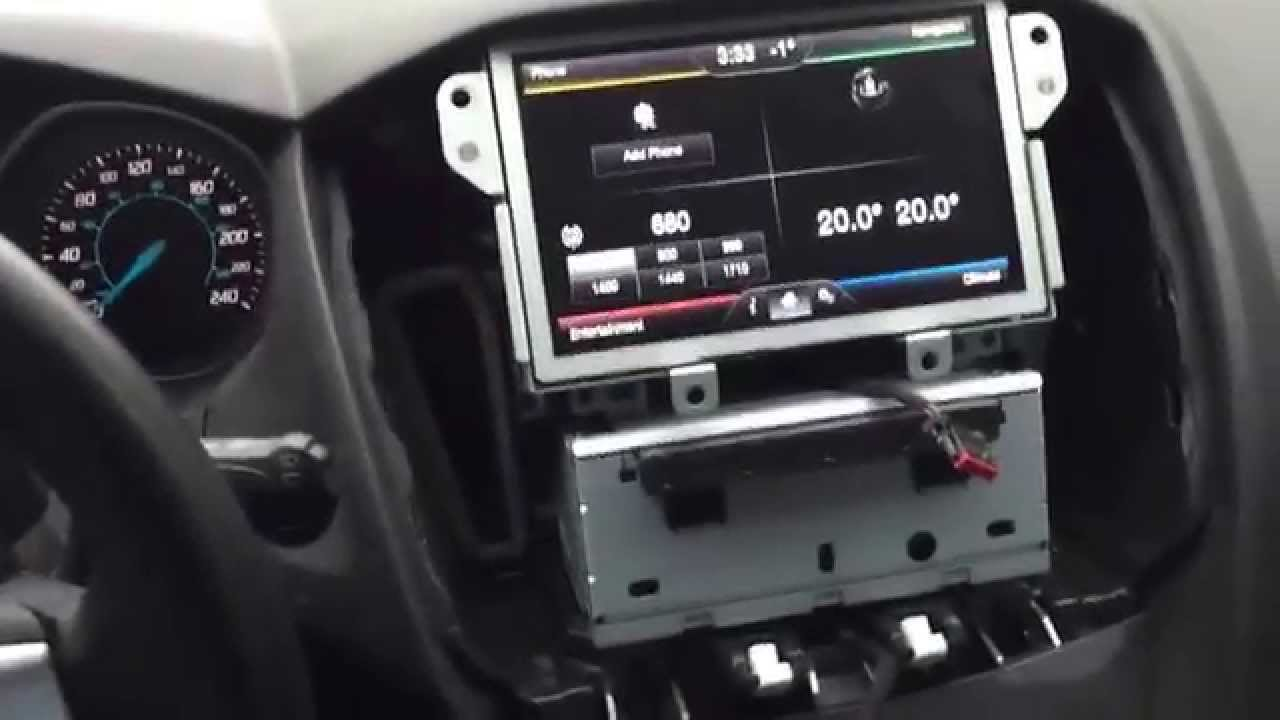 Adding Oem Navigation To 2012 Ford Focus Swapping Out