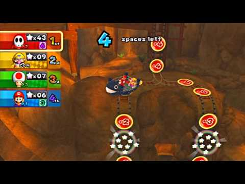 Mario Party 9 Gamplay: Magma Mines!!
