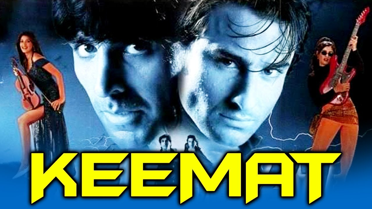Keemat (1998) Full Hindi Movie | Akshay Kumar, Saif Ali Khan, Raveena Tandon, Sonali Bendre