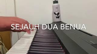 Arsy Widianto & Brisia Jodie - Sejauh Dua Benua ( Piano Cover )