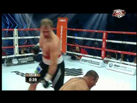Бой Андрея Князева с Шалвой Джомардашвили 27 сентября 2014 года