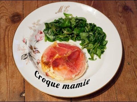 Recette du Croque Mamie par Mamy Monica