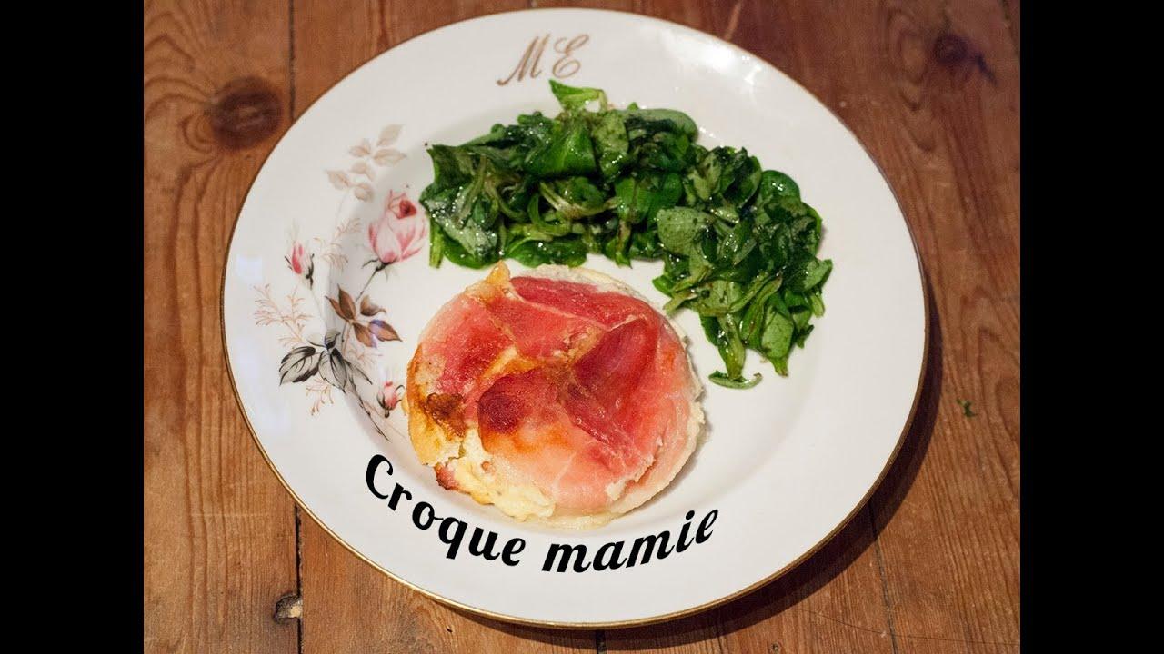 Recette Du Croque Mamie Par Mamy Monica YouTube - La cuisine de monica