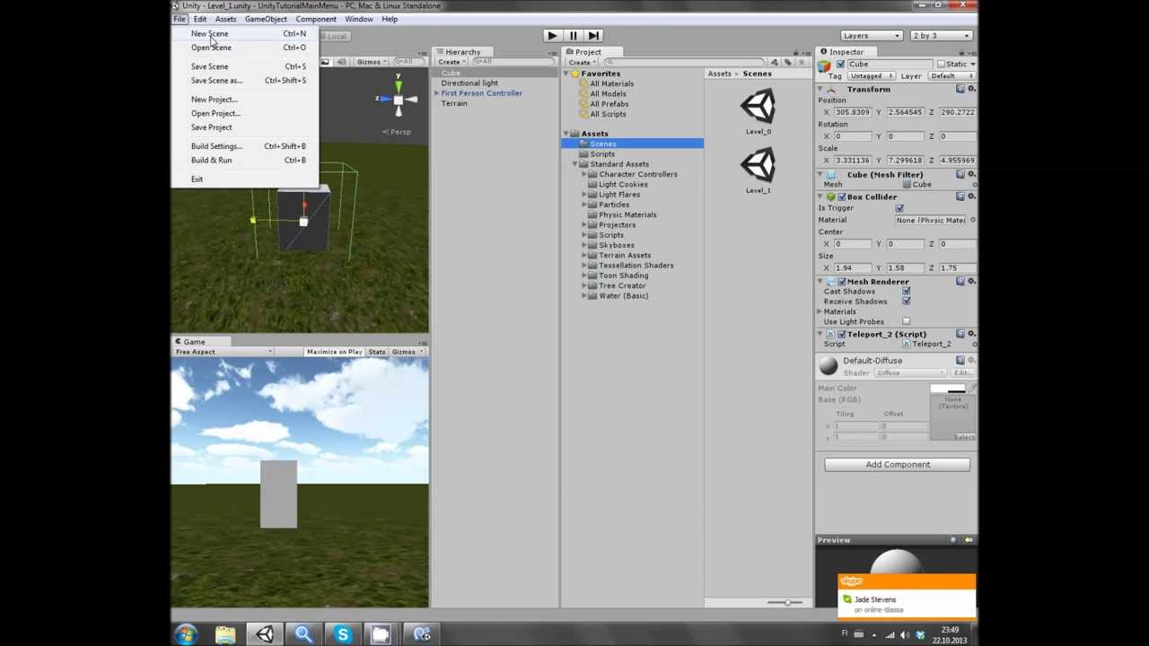 unity how to make a texture
