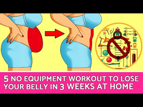 Download 5 No Equipment Exercises to Lose Your Belly in Just 3 Weeks at Home | HealthPedia