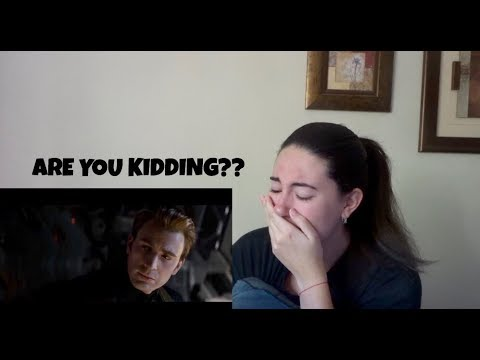 Avengers: Endgame Trailer Reaction (and yes I cried...again)