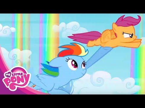 Мультфильм Дружба - это чудо про Пони - Неспящие в Понивиле