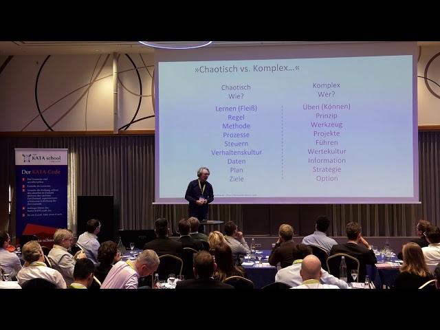 Etablierung einer wissenschaftlichen Denkweise in Organisationen | KATA Convention 2018