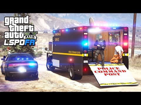 GTA 5 - LSPDFR Ep445 - Mobile Command Center Operation!!