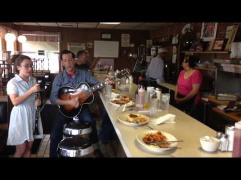 Pokey LaFarge- Tonight You Belong to Me (Live at the Jefferson Diner)