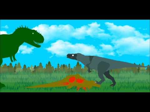 SB14FC - Tyrannosaurus vs Red Eye King