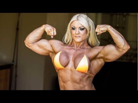Strong muscle girl workout lisa cross fbb bodybuilder - Lisa cross fbb ...