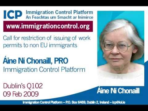 Áine Ní Chonaill PRO - Dublin's Q102 Radio - 09th Feb 09