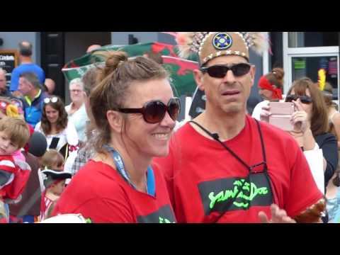 laugharne flash mob 2017