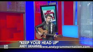 Andy Grammer Keep Your Head Up on Fox and Friends