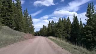 Breckenridge & Boreas Pass Road, Colorado Time Lapse Dashcam