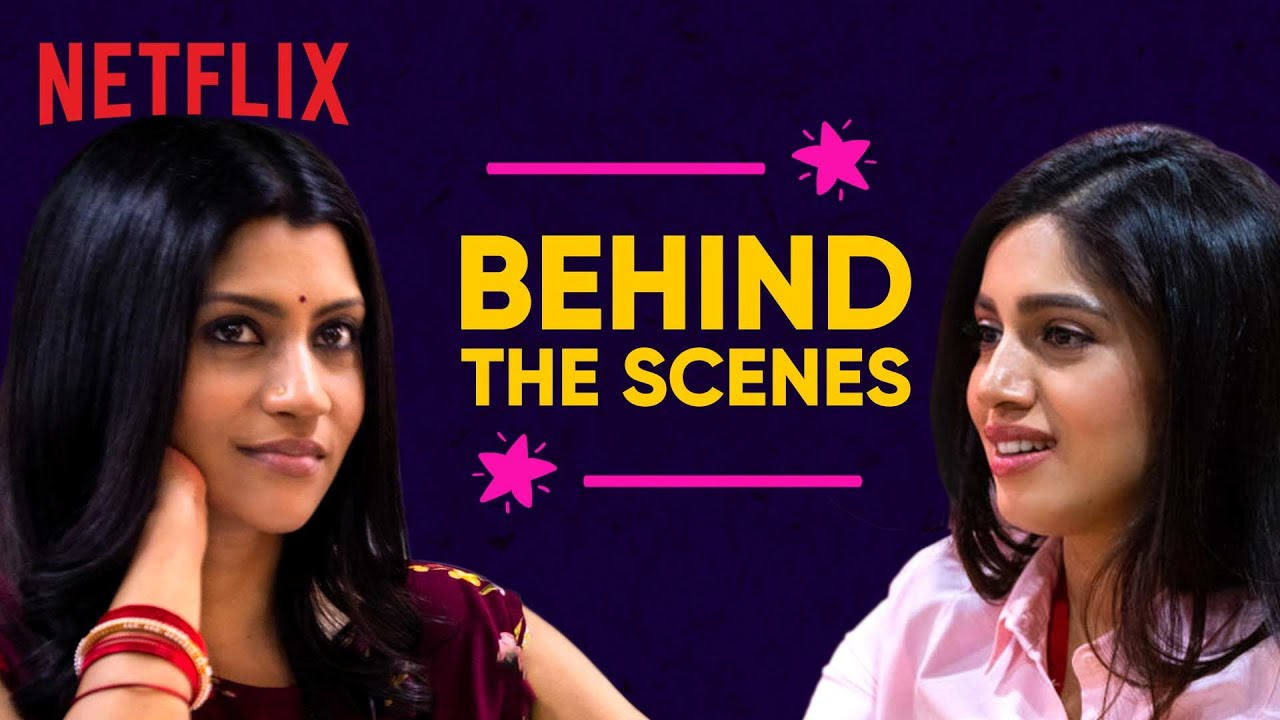 Behind the Scenes: Dolly Kitty Aur Woh Chamakte Sitare ft. Konkona & Bhumi | Netflix India